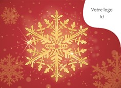 Carte de Noël corporative, 4009 Célébration